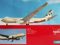 532716  Etihad Cargo Airbus A330-200F 1:500 Herpa Wings