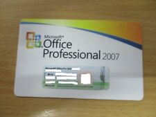 Microsoft Office Professional 2007 Medialess License Kit