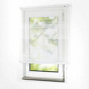 PVC Jalousie Lamellen Rollo Kunststoff Jalousette Fenster Kunststoffjalousie