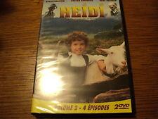 """COFFRET 2 DVD NEUF """"HEIDI - VOLUME 2"""" Katia POLLETIN / 4 episodes"""