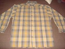 Chemise Oxbow jaune et grise - taille M