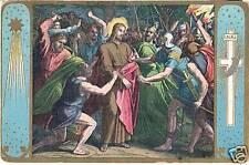 Deutschland UPU Weltpostverein Old picturecard 1900 Postkarte Gefangennahme Jesu
