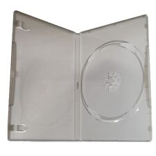 100 New 14mm Standard Single Disc Gray DVD Case For Xbox 360 Platinum Hits