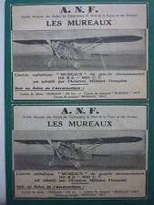 11/32 PUB ANF LES MUREAUX NORD AVION 110-R.2 AIRCRAFT AERONAUTIQUE MILITAIRE AD