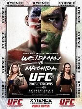 UFC 175 July 5, 2014 Poster  (24x36) - Weidman vs Machida, Rousey vs Davis NEW