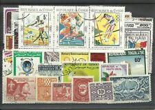 Lot de 50 timbres de la communauté Francaise