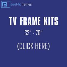 Black Mamba TV Frame by Best-Fit Frames