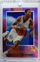 1996-97 Ex-2000 #53 Allen Iverson Rookie RC, Foil Refractor Like, Sharp, Acetate
