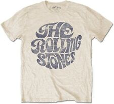 THE ROLLING STONES Classic Vintage 1970s Band Logo T-SHIRT OFFICIAL MERCHANDISE