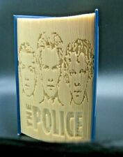 More details for the police - folded book art - sting, stewart, andy - portraits - unique gift