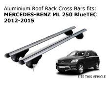 Aluminium Roof Rack Cross Bars fits MERCEDES BENZ ML 250 2012-2015