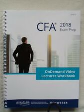 Schweser Cfa Cfa 2018 Exam Prep Level II