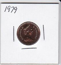 1979 Canada 1 Cent coin From Double Dollar Set