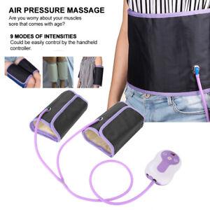 Electric Leg Massager Circulation Machine Blood Air Compression Foot Waist Kit p