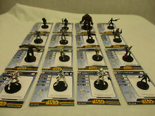 Star Wars Minis Miniatures Revenge of the Sith Complete Commons NEW