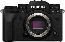 New Fujifilm X-T4 Camera Body - Black Version *OFFICIAL FUJI UK DEALER* XT4