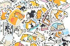 39pc Shiba Inu Dog Stickers lot Die-cuts for junk bullet journal scrapbook