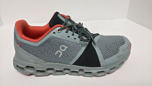 On Cloudstratus Running Shoes, Grey, Men's 10 M