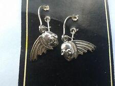 Skull earrings - Silver 925 - Kolczyki czaszki - Srebro 925