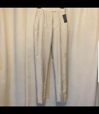 Prada Beige High Waisted Trousers - Size IT42