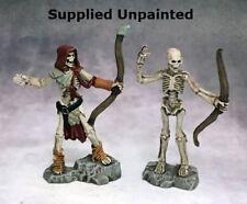 Skeleton Archers Reaper Miniatures Dark Heaven Legends Undead Ranged Bows