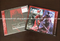 STORMBLOOD FINAL FANTASY XIV Original Soundtrack Blu-ray Code Sleeve case Japan
