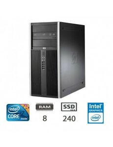 PC USATO HP 8100 INTEL CORE I7 860 3.40 GHZ 8 GB RAM SSD 240 GB + HDD 500 GAMING