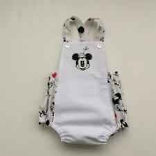 Baby Girls Romper Size 00 Minnie Mouse Handmade NWD