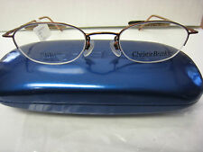 CHRISTY BRINKLEY Eyeglass Frames  SYNERGY in  COPPER 47-20-130 With  Case New