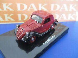 Die cast 1/43 Modellino Auto Fiat 500 A 1936 Topolino