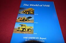 Volvo BM Michigan Euclid Buyers Guide For 1985 Dealer's Brochure DCPA4
