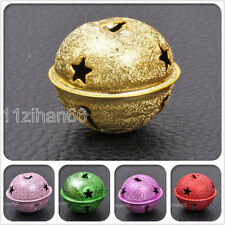5pcs mix color Metal Jingle Bell Christmas Tree Baubles Decorations bells 40mm
