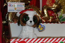 "TY BEANIE BOOS PRESENTS THE CHRISTMAS DOG.6"".2012.RETIRED.MWNMT.NICE GIFT"