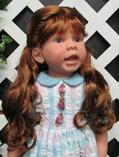 """Doll Wig, Monique """"Lexy"""" Size 4 in Golden Auburn"""