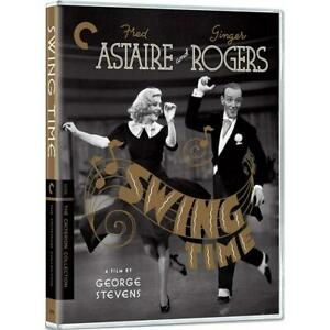 Swing Time The Criterion Collection (Fred Astaire) New Region B Blu-ray