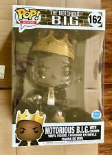 10 Inch Funko Pop! Rocks The Notorious B.I.G. With Crown Exclusive Limited Big