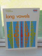 Long Vowels Phonics Workbook English Grammar Book School Grade K 1 2