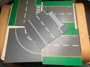 5 Lego Strassenplatten