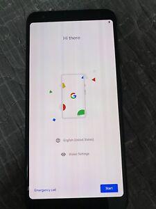Google Pixel 3a XL - 64GB - Just Black (Unlocked) (Single SIM)