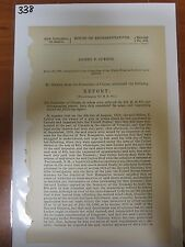 Gov Report 1878 Sidney P Luther Refund steers cattle seized New Hampshire #338