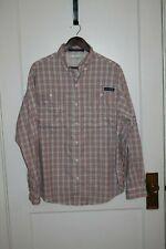 Columbia men's Super Tamiami Fishing Shirt Long Sleeve Medium Lightest Weight