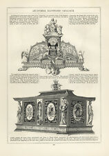 Trailers for Chains Italian inkstand Schneider madera pinchazo exposición universal 327