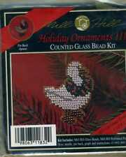 Mill Hill H32 Christmas Goose, 1992 Counted Glass Bead Kit Holiday Ornaments Iii