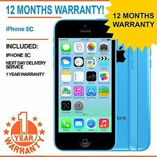IPhone Apple 5C da 8GB EE Arancione T-Mobile Virgin-Blu