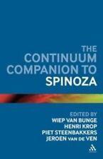 Bloomsbury Companions: Continuum Companion to Spinoza by Jeroen van de Ven...