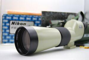 [Boxed MINT Nikon D=60 P Fieldscope Spotting Scope + Case w/20x Japan 30155