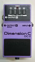 BOSS DC-2 Dimension C Guitar Effects Pedal Made in Japan 1985 #35 Free Shipping