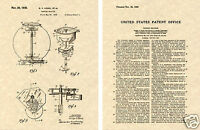 Vintage 1935 Gumball Machine US PATENT Art Print READY TO FRAME! Candy Vending