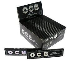Original Ocb Premium Slim Noir Papier à Rouler Rizla 5,10 ou 50 Carnets