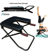 SISYAMA® Fitness Yoga Chair INVERSION BENCH + WORKOUT MANUAL Headstand Handstand